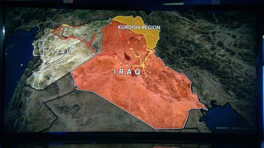 Northern Iraq map
