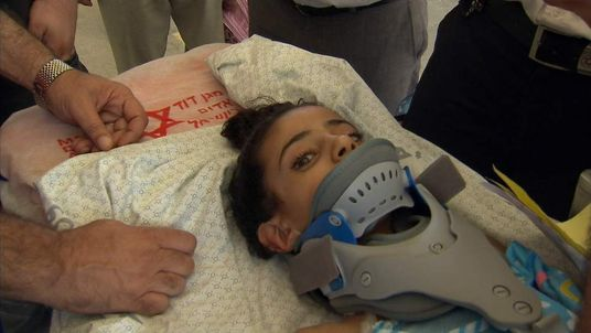 Paralysed Palestinian girl Maha has left Gaza for specialist medical treatment