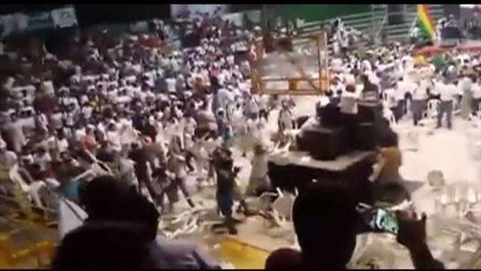 Bolivia brawl