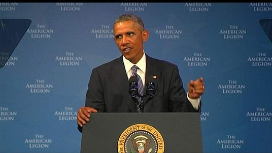 Barack Obama speaks about the murder of journalist James Foley by Islamic State militants.