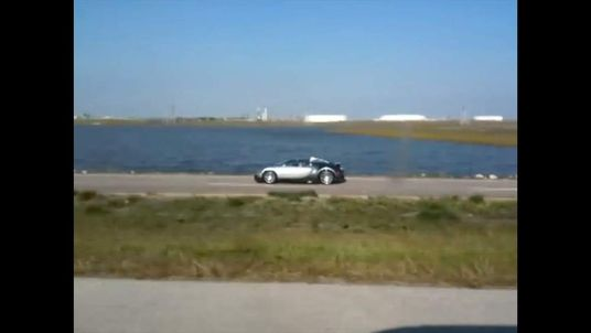 Bugatti deliberately driven into Lake near Galveston Texas