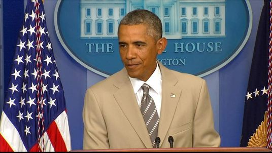 President Obama Making Statement
