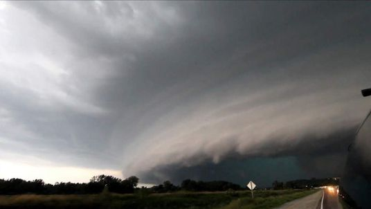 Iowa supercell forming