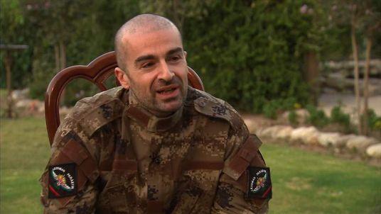 Special warfare consultant Bafle Talabani