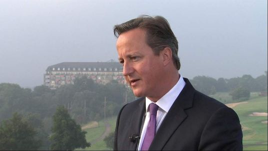 Prime Minister Interview Wales Newport