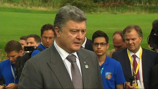 Ukraine President Petro Poroshenko.