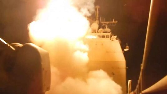 Tomahawk launched from USS Philippine Sea