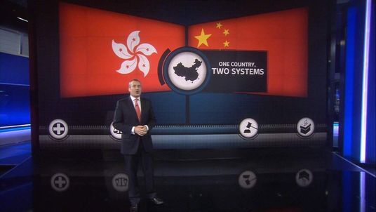 Sky's Colin Brazier explains the political situation in Hong Kong