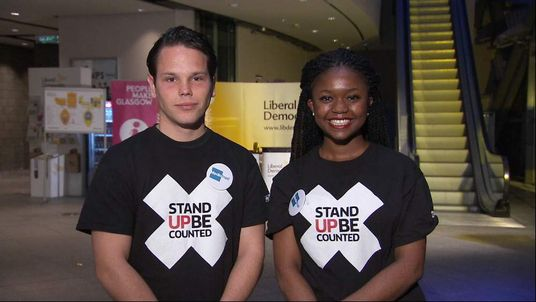 SUBC stand up be counted Michael Adams and Charlene Osyagwu