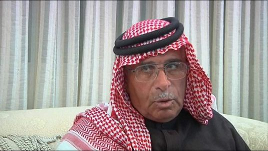 Father of Lt Kasasbeh Youssef Al-Kasabeh