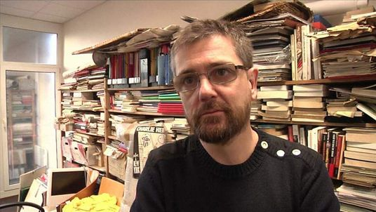 Charlie Hebdo editor Stephane Charbonnier in January 2013