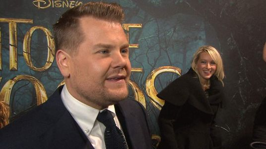 James Corden at London premiere of Into The Woods