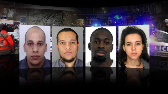 Four terror suspects in Paris attacks