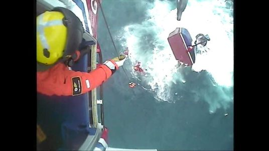 Five fishermen rescued as their boat sinks of the Isle of Lewis