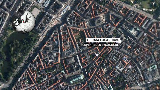 Copenhagen synagogue map screen grab