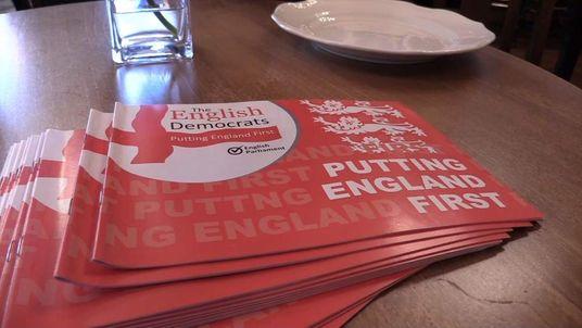 English Democrats campaign launch
