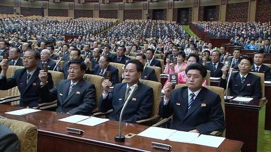 North Korea party meemebers
