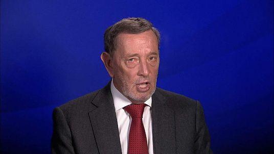David Blunkett speaking to Sky News