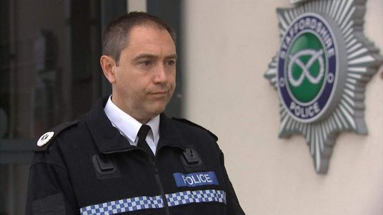 Acting Assistant Chief Constable Jon Drake of Staffordshire Police
