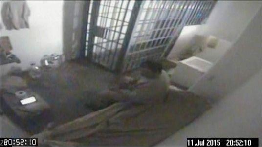 CCTV Of Joaquin El Chapo Guzman Prison Escape