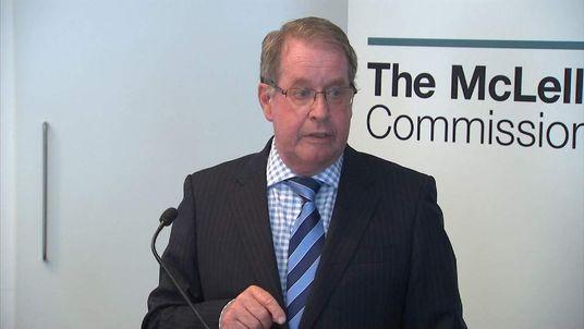 Commissioner Andrew McLellan