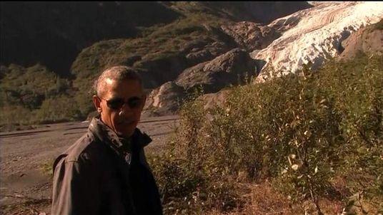 President Barack Obama in Alaska