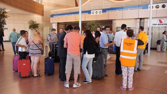 Only hand luggage is allowed on Friday's flights from Sharm to the UK