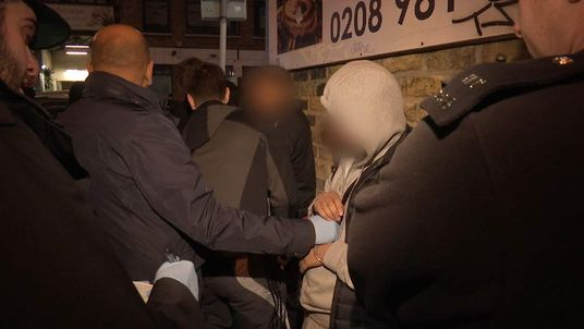 Mark White London Gang Crime Crackdown Grab