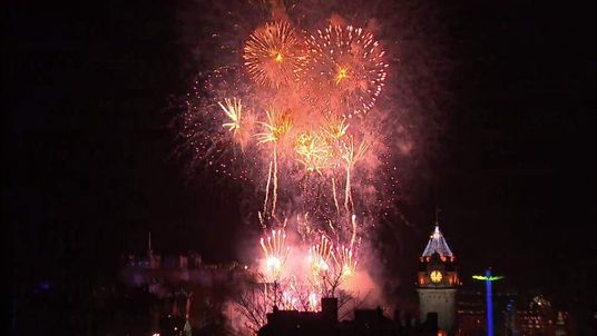 Hogmanay celebrations in Edinburgh