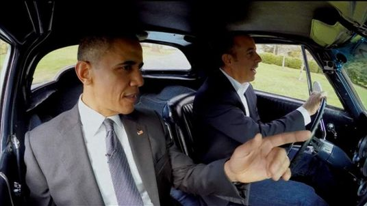 Barack Obama And Jerry Seinfeld