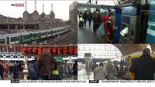 Rail fares composite