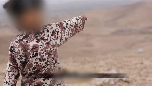 Boy in apparent Islamic State video