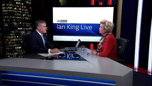 Teresa Wickham On Ian King Live