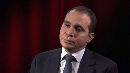 FIFA Presidential candidate Prince Ali Bin Al Hussein talking to Sky News