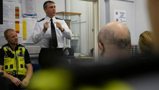West Midlands chief constable Dave Thompson