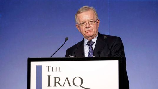 John Chilcot, chairman of the Iraq Inquiry