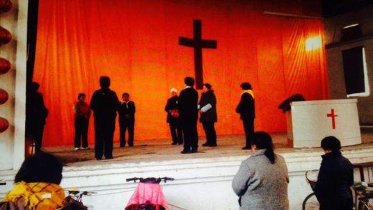 China Mark Stone piece (Pastor Persecution)
