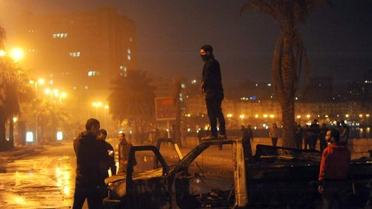Egypt unrest in Alexandria