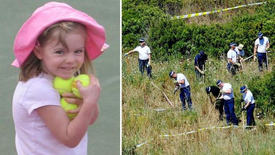 Madeleine McCann missing