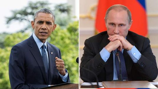 US President Barack Obama (L) and Russian President Vladimir Putin