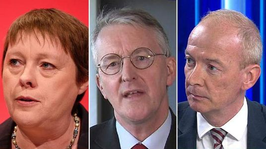 Maria Eagle, Hilary Benn and Pat McFadden.