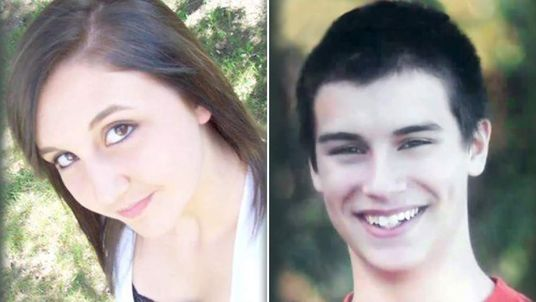 Teens Haile Kifer and Nick Brady. Pics: CBS
