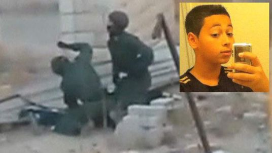 Tariq Abu Khadair allegedly beaten by Israeli police