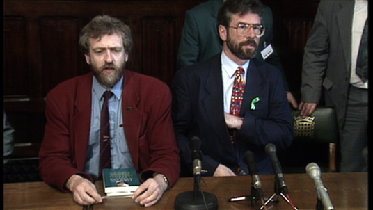 Jeremy Corbyn and Gerry Adams