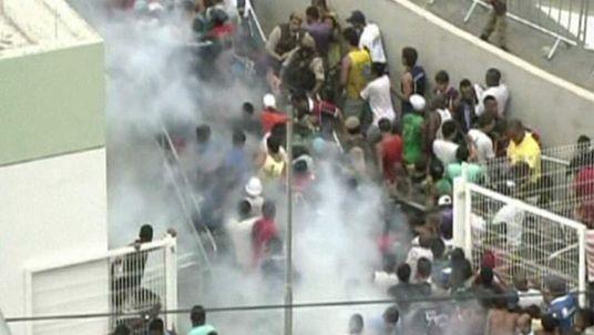 Brazil football violence