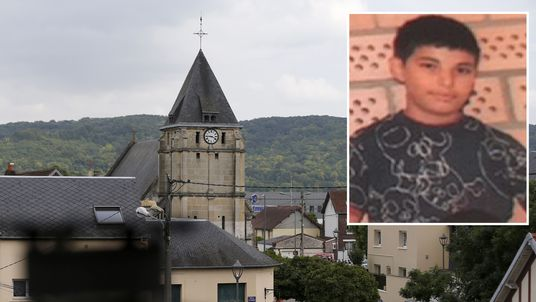 Adel Kermiche, one of the killers who slit the throat of a priest