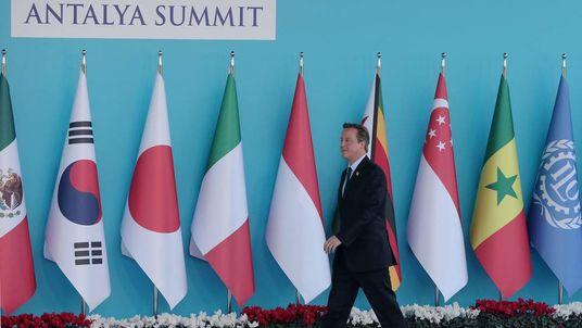 David Cameron at the G20