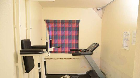 Mass killer Breivik's prison cell