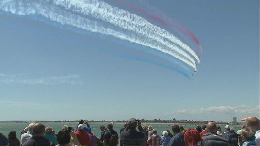 D DAY Red Arrows