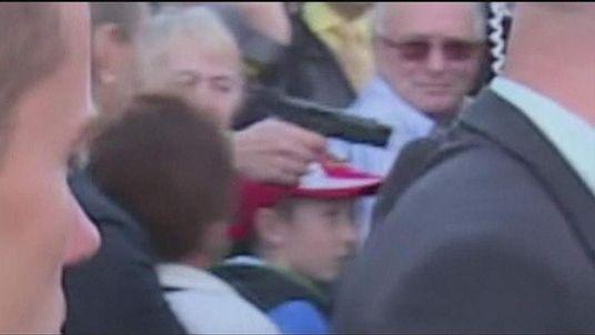 Man opens fire on Czech president